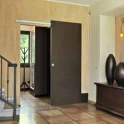 Drzwi przesuwane w holu