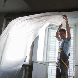 Folie do malowania chronią przed zabrudzeniami