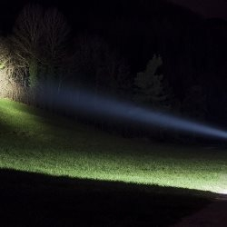 latarka typu szperacz