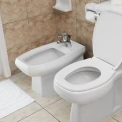 Bidet zaraz przy toalecie