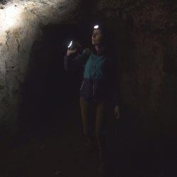 latarka w ciemności