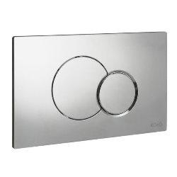 Przycisk WC Koło Eclipse 2 chrom