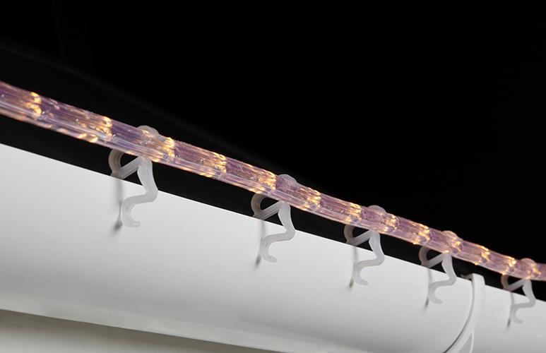 wąż świetlny zewnętrzny LED świąteczny 8 m biały barwa ciepła biała