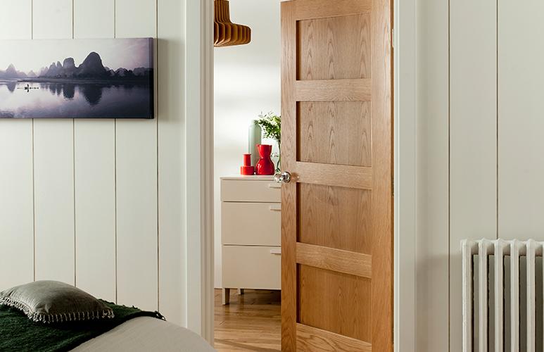 Drzwi pełne Connemara 60 lewe dąb skalny