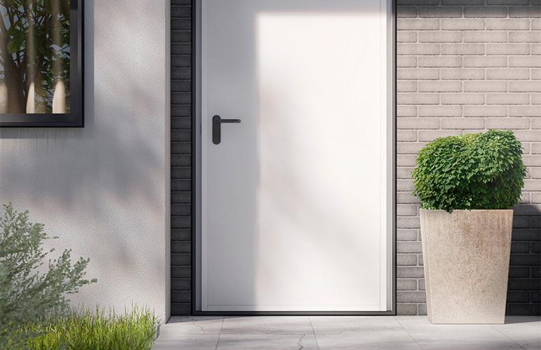Drzwi zewnętrzne Multiuso malowane 90