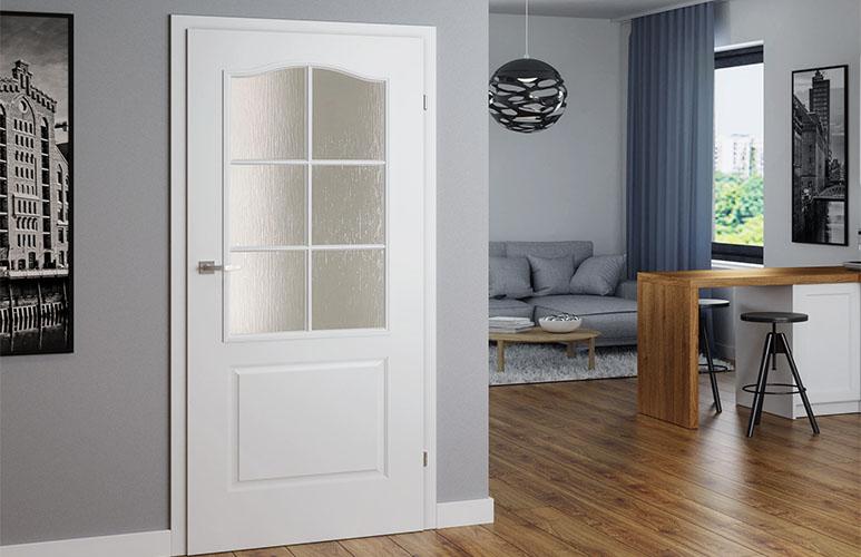 Drzwi pokojowe Classen Classic 90 prawe biały lakier