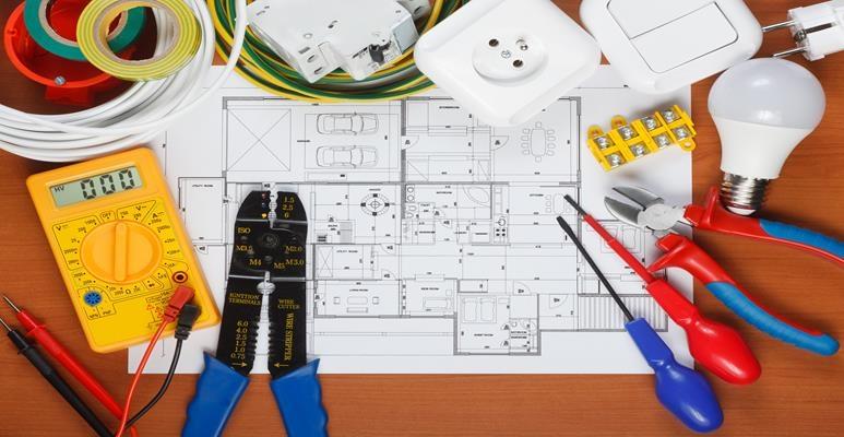 profesjonalne narzędzia dla elektryka
