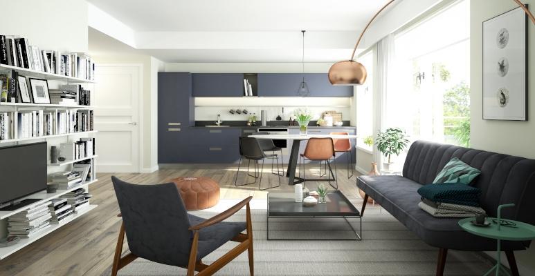 Salon Z Kuchnią Płytki Czy Panele Na Podłogę Inspiracje