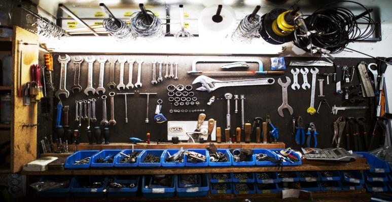 przechowywanie narzędzi