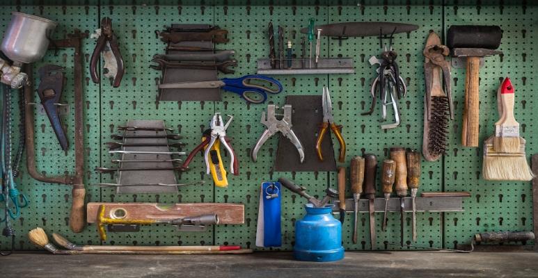 narzędzia domowy warsztat
