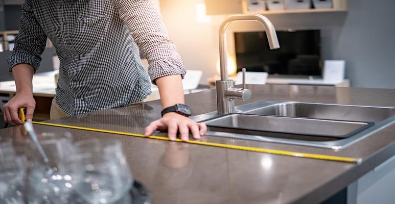rozmieszczenie mebli w kuchni