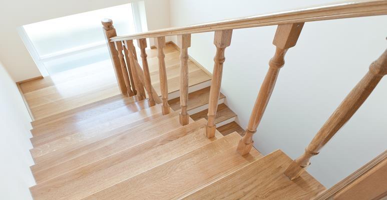 schody - impregnacja drewna olejem