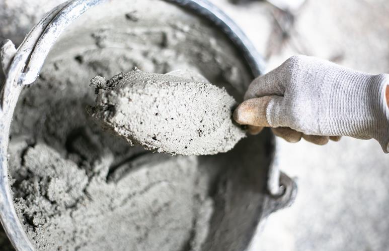 jak zrobić betonową doniczkę