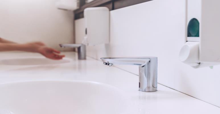 działanie fotokomórki w baterii łazienkowej