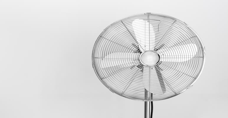 как вентилятор работает