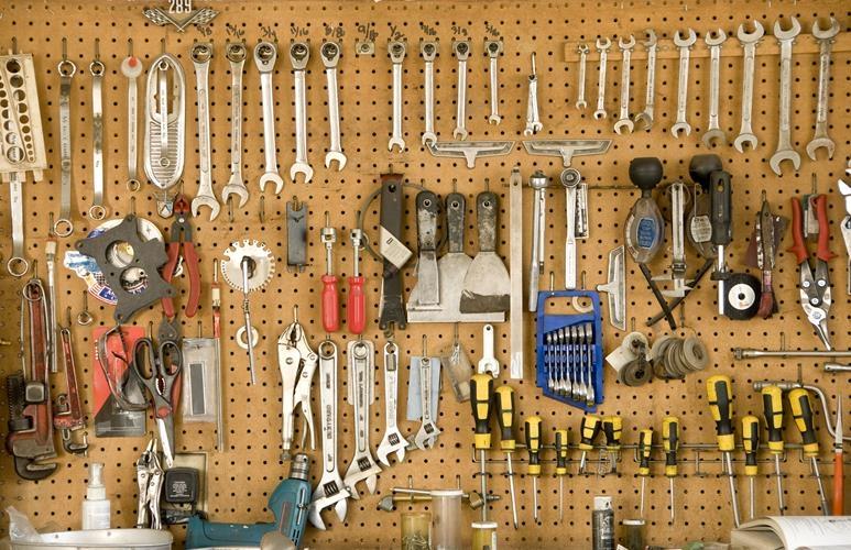 wyposażenie garażu