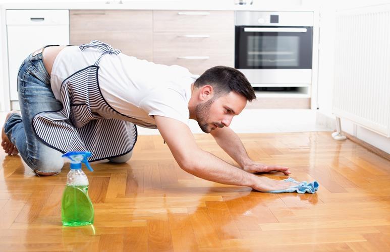 konserwacja podłogi olejowanej
