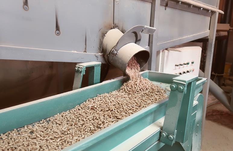 pellet produkcja