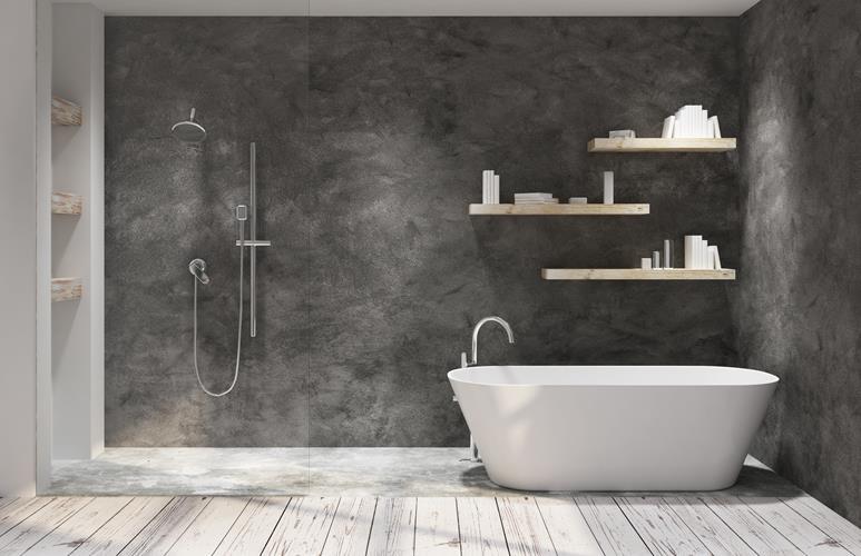 łazienka Z Drewnianą Podłogą Jakie Drewno Do łazienki