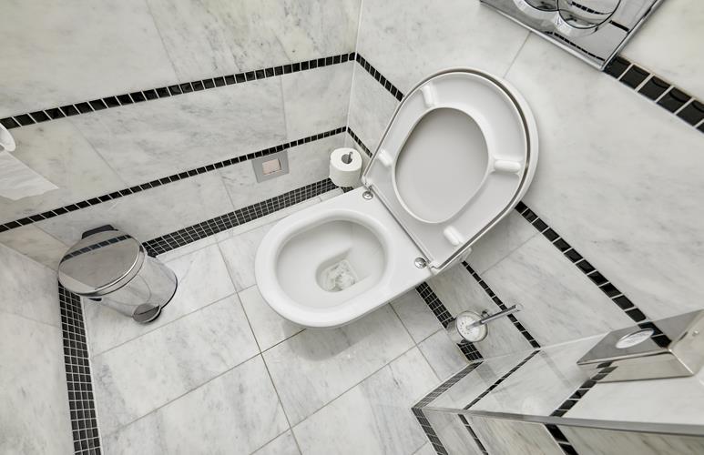 jak urządzić małą toalete