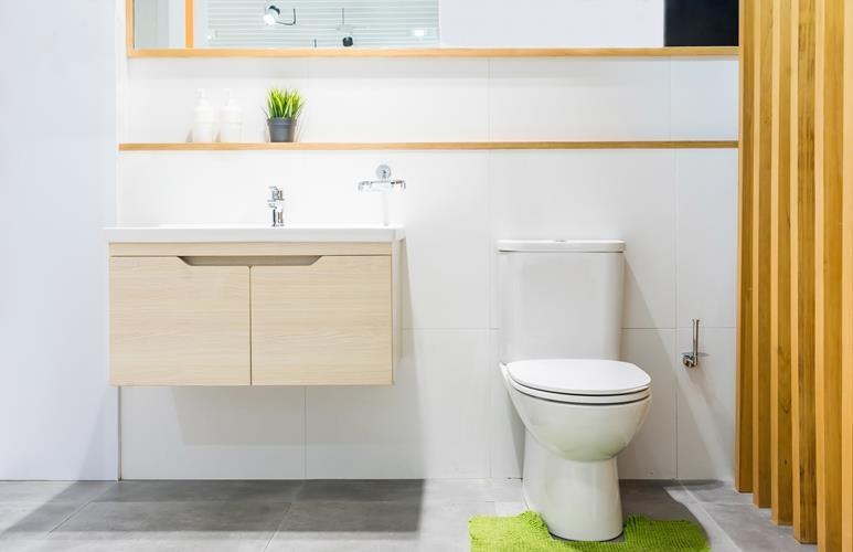 pomysł na małą toaletę