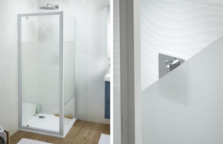 drzwi wahadłowe kabina prysznicowa