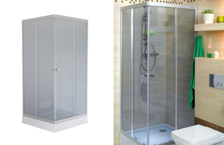 kabina prysznicowa kwadratowa