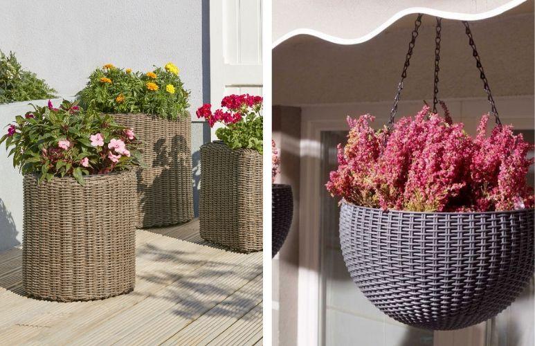 ogródek kwiatowy przydomowy