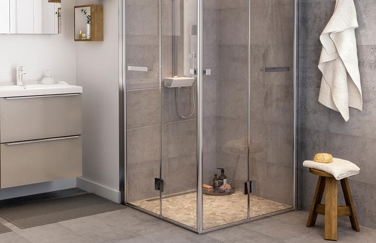 wybór drzwi do kabiny prysznicowej