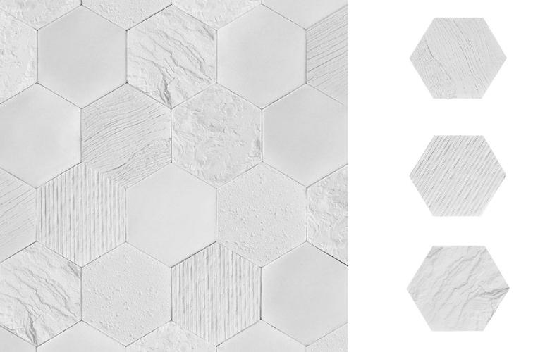 płytki heksagony
