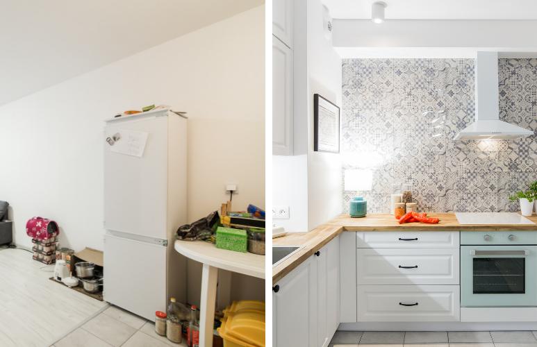 metamorfoza kuchni w bloku