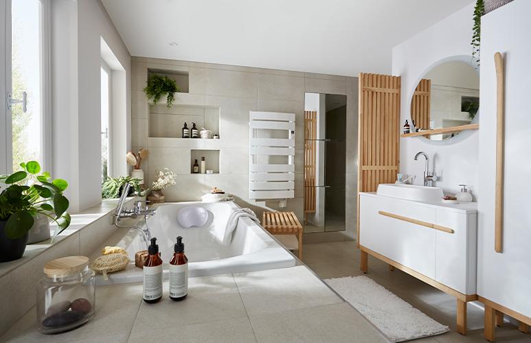 relaks w łazience