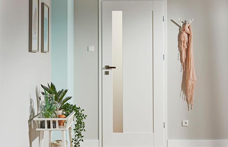 Drzwi pokojowe Fado 80 prawe kredowo-białe