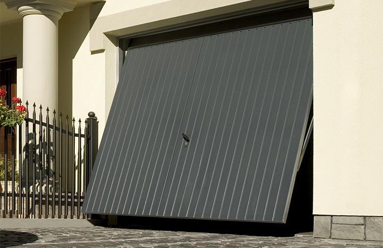 Brama garażowa GoodHome 2500 x 2125 cm antracyt