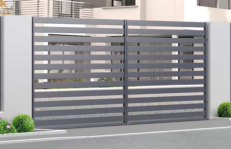 Brama dwuskrzydłowa Polbram Steel Group Lara