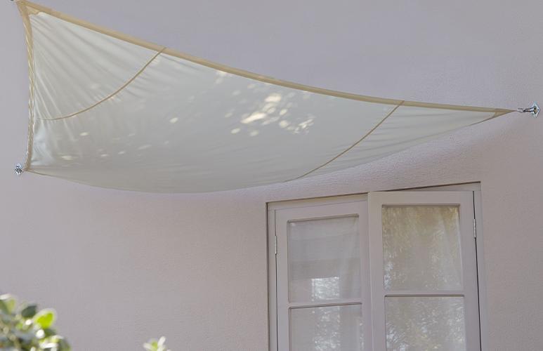 Żagiel cieniujący Blooma 3 x 3 x 3 m beżowy