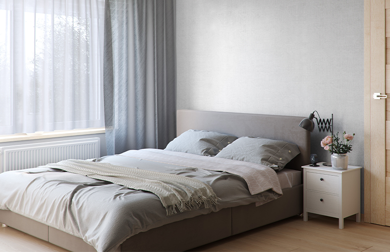 Panel ścienny PCV Motivo 330/D grey linen 2,624 m2