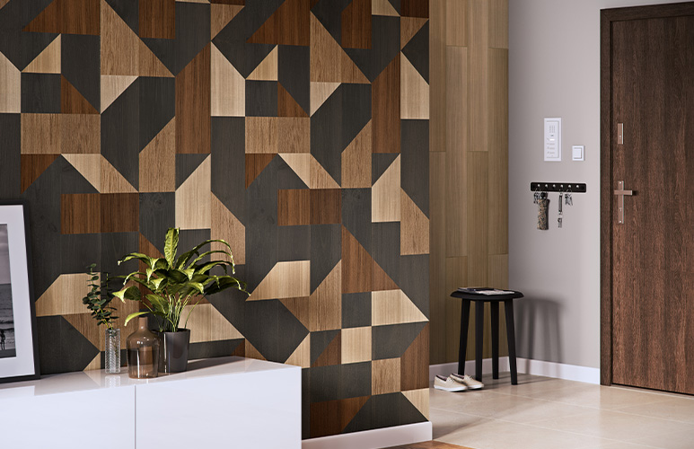 Panel ścienny PCV Motivo 330/D larix decor 2,624 m2