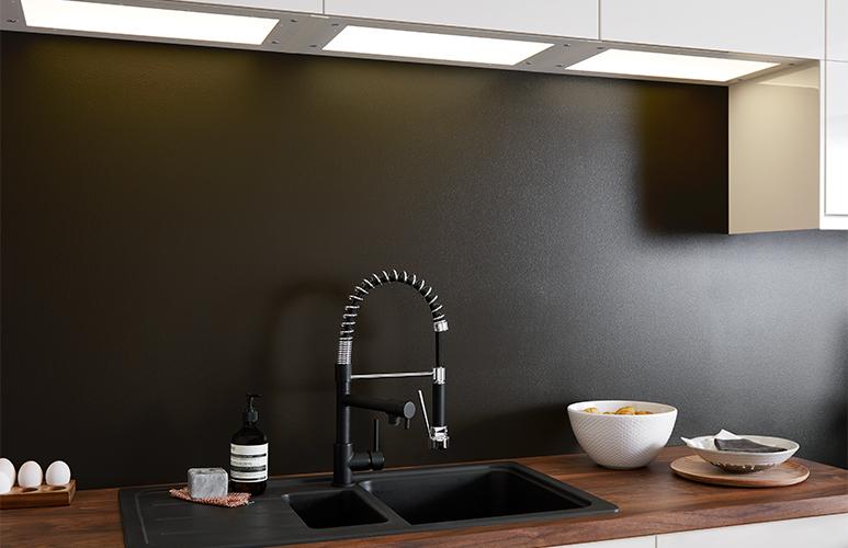 Półka oświetleniowa GoodHome Caraway600 mm