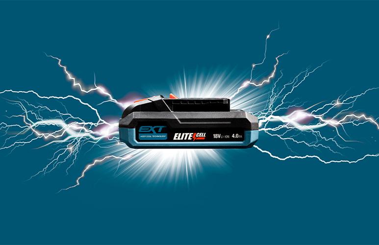 Akumulator kompaktowy Erbauer 18 V 4,0 Ah