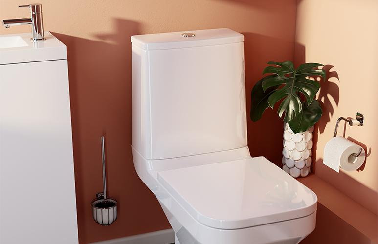 Deska WC Teesta wolnoopadająca z duroplastu biała