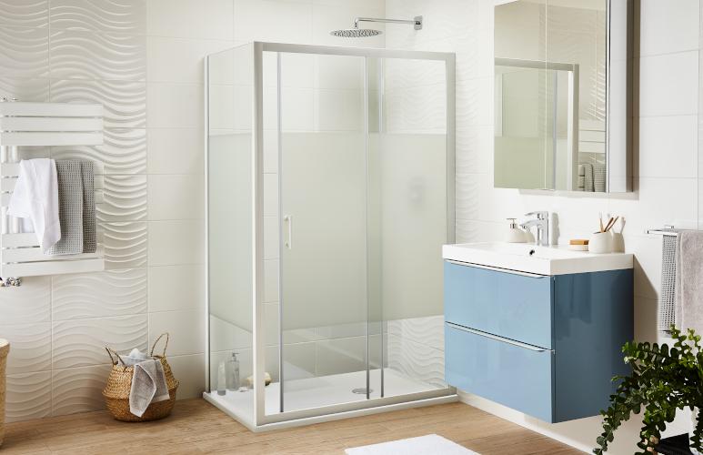 Ścianka i drzwi prysznicowe Onega