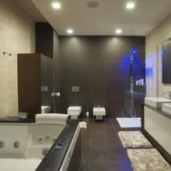geometria w aranżacji łazienki