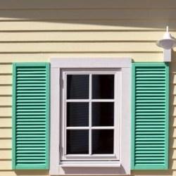 osłona okienna domu