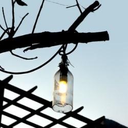 własnoręcznie wykonana lampa