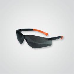 Okulary ochronne Dedra matowe UV poliwęglan