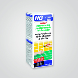 Środek HG Ochrona fug podłogowych i ściennych 0,25 l
