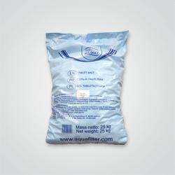 Sól do zmiękczaczy Aquafilter w tabletkach 25 kg