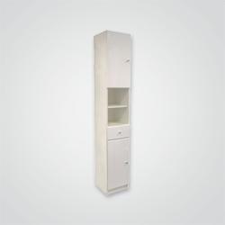 Słupek Rumba 30 x 184,2 x 33 cm biały