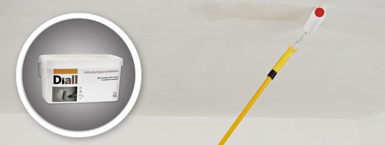 Podkład gruntujący Diall biały 10 l